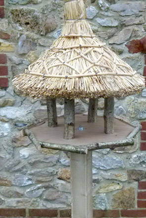 Thatched Bird Tables Somerset